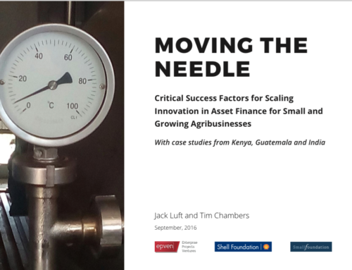 Moving the Needle: Critical Success Factors for Scaling Asset Finance