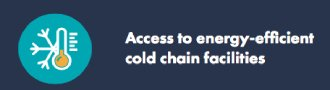 access to energy-efficient cold chain