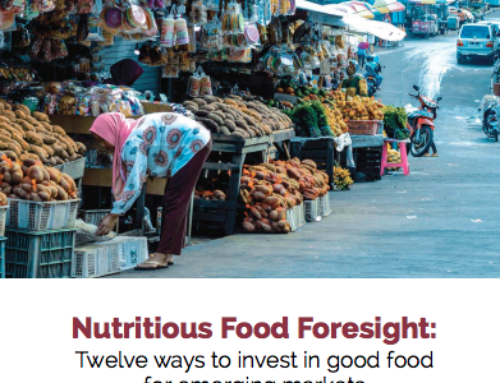 New report – Nutritious Food Foresight: Twelve ways to invest in good food for emerging markets