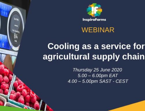 "Webinar ""Cooling as a service in agricultural supply chains"""