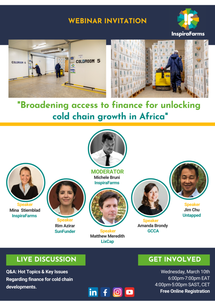 Broadening access to finance for unlocking cold chain growth in Africa