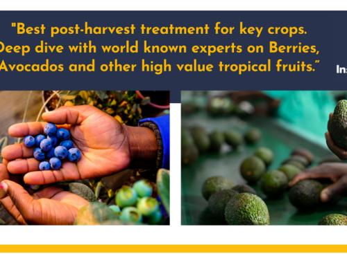"Webinar ""Best post-harvest treatment for key crops"""