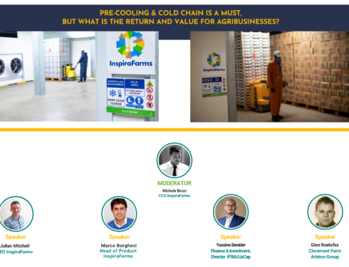 """Webinar """"Pre-cooling & cold chain is a must, but what's the ROI?"""""""